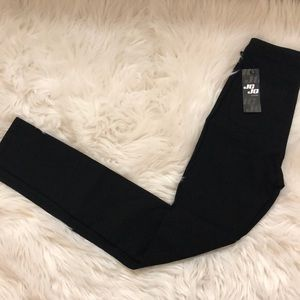 Black Jegging Pants (HIGH RISE)